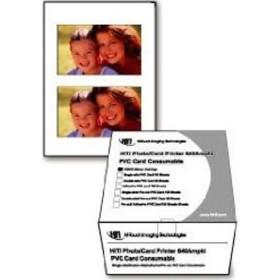 HiTi single side PVC card Kit 100-pack
