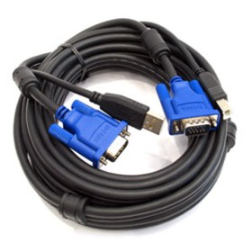 D-LINK KVM-CU5 2 in 1 USB KVM Cable