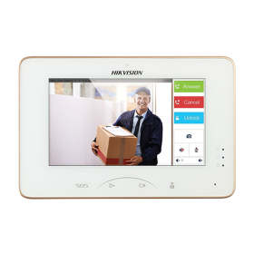 Hikvision Video Intercom Indoor Station with 7-inch Touch Screen