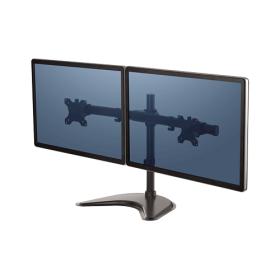 Fellowes Professional Freestanding Dual Horizontal Monitor Arm