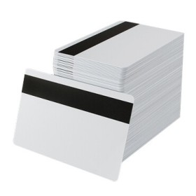 Blank PVC Magnetic Stripe Cards