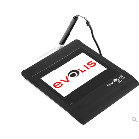 Evolis Sig activ high-tech signature pad
