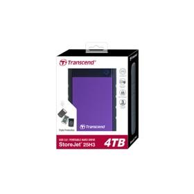 Transcend StoreJet 25H3 4TB External hard drive