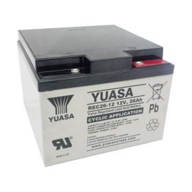 Yuasa 12V 26Ah Replacement Battery
