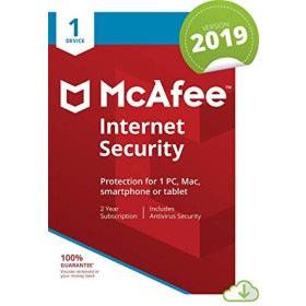Mcafee internet security 1 user