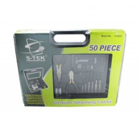 S-TEK 50 Pieces Computer & Networking repair Tool Kit