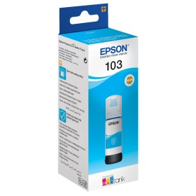 Epson 103 cyan ink bottle
