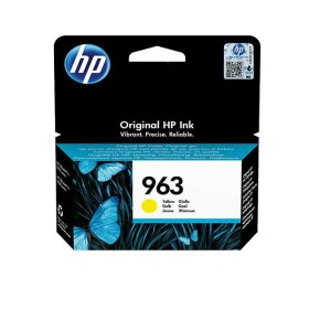 HP 963 yellow original ink cartridge 3JA25AE