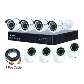 Premax 8 Channel AHD DVR CCTV KIT 1.3MP PM-DVRKIT138