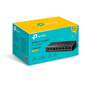 TP-Link TL-LS1008G 8-Port 10/1000Mbps Desktop Switch