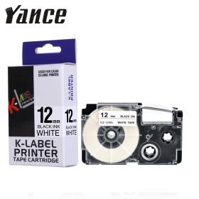 Casio 12mm black on white