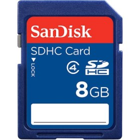 Sandisk 8GB SD card class 4