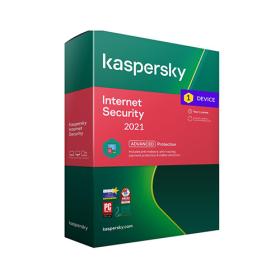 Kaspersky Internet Security 2021 1 user +1