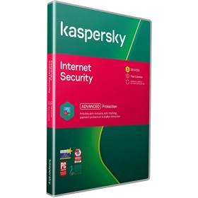 Kaspersky internet security 3 user + 1