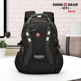 Swissgear backpack with microphone