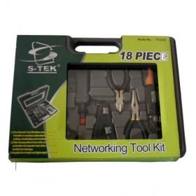 S-Tek 18 piece networking tool kit