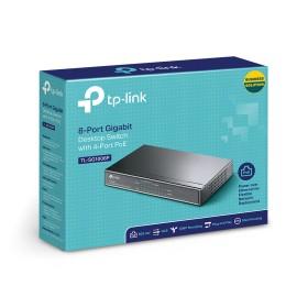 TP-Link TL-SG1008P 8-Port Gigabit Desktop Switch with 4-Port PoE