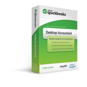 QuickBooks Accountant 1 User Full Pack