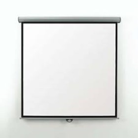 Projector Screen manual 180 by 180cm