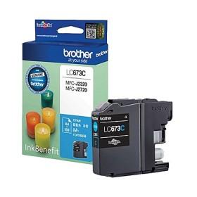 Brother LC673C cyan ink cartridge