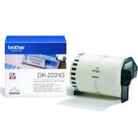Brother DK-22243 Black on white tape