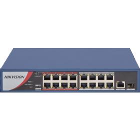 Hikvision DS-3E0318P-E/M 16 port POE switch