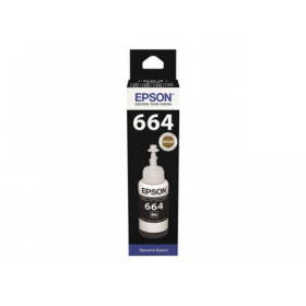 Epson T6641 original black ink cartridge