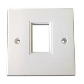 Giganet Single faceplate