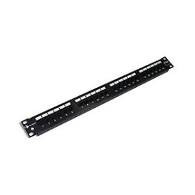 Siemon cat6 24 port patch panel