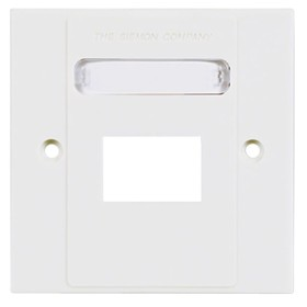 Siemon double faceplate