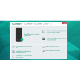 Kaspersky security center service provider edition