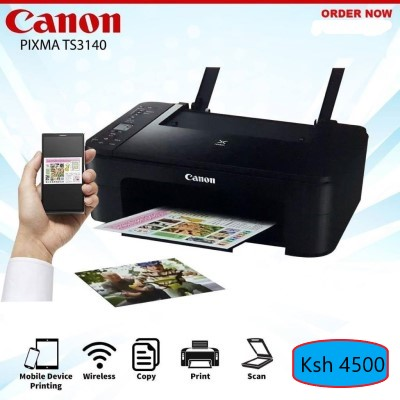 Canon Pixma TS3140 wireless printer