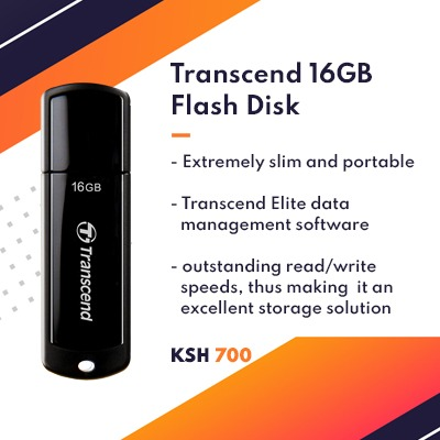 Transcend 16GB flash disk