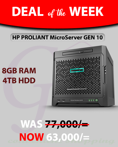 HP ProLiant MicroServer Gen10 server